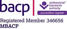 BACP Logo Laura Cawson Counselling Farnham